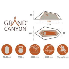 Grand Canyon Richmond 1 Namiot zielony